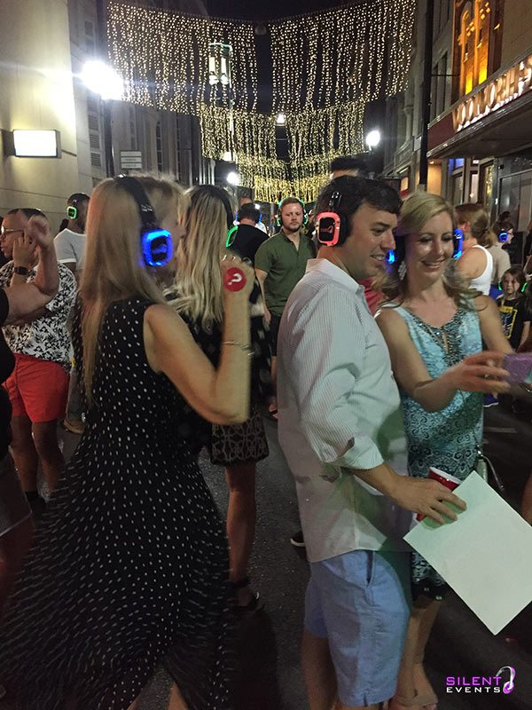 Silent Disco Walking Tour Headphones