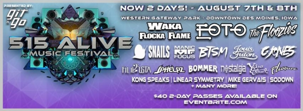 515 Alive Music Festival Silent Disco powered by Silent Events