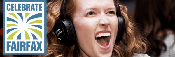 Celebrate Fairfax Silent Disco 2015 Powered by Silent Events