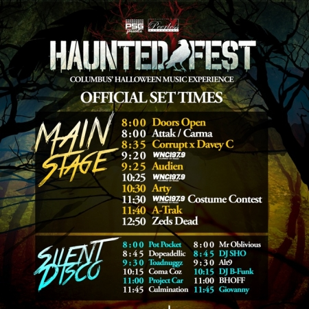 Haunted Fest Silent Disco powered by Silent Events