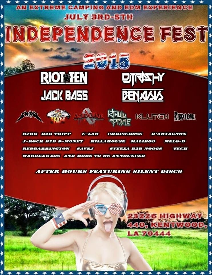 Independence Fest Silent Disco 2015 powered by Silent Events