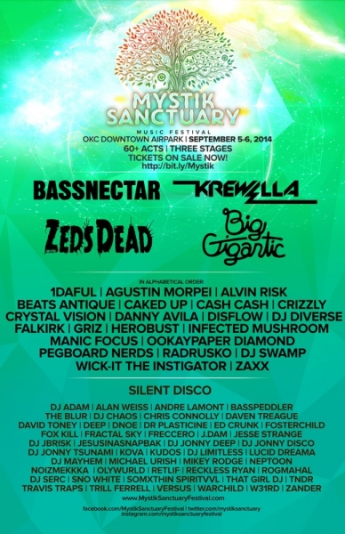 Mystik Sanctuary Music Festival Silent Disco powered by Silent Events