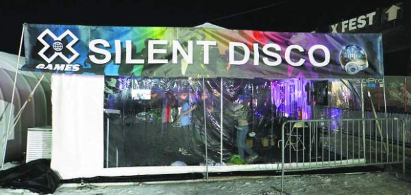 Winter X Games 2014 Aspen Silent Disco powered by Silent Events
