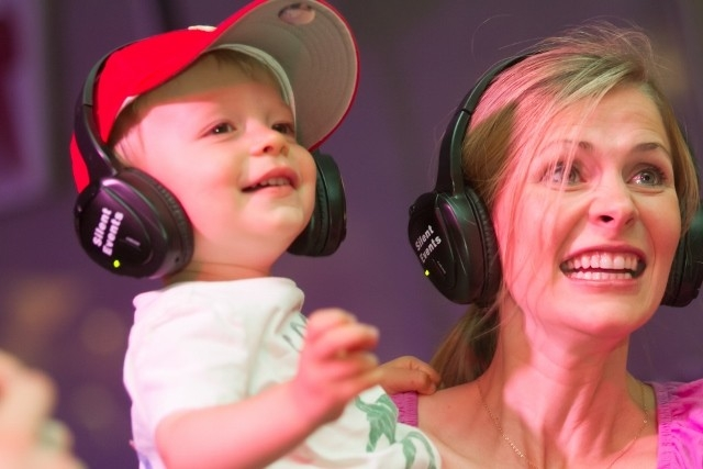 Celebrate Fairfax Silent Disco Jr powered by Silent Events