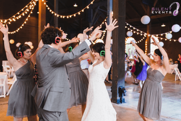 Silent Wedding Reception powered by Silent Events